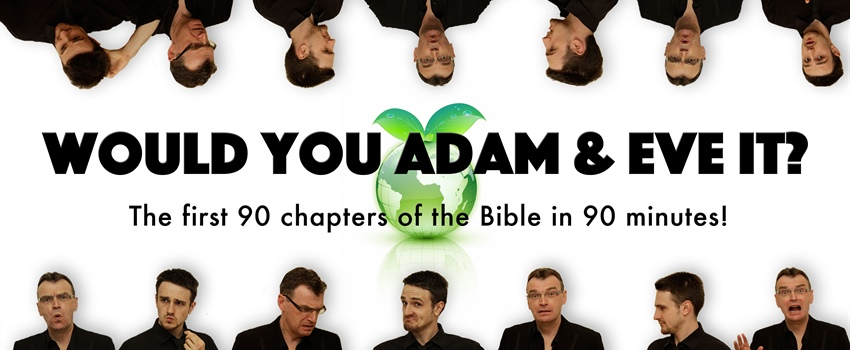 Tickets now on sale for 'Would you Adam and Eve it?'